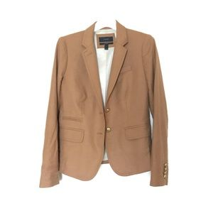 J. crew | Camel Wool Flannel School boy blazer